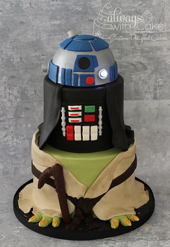 Star Wars Cake - Cake by AlwaysWithCake