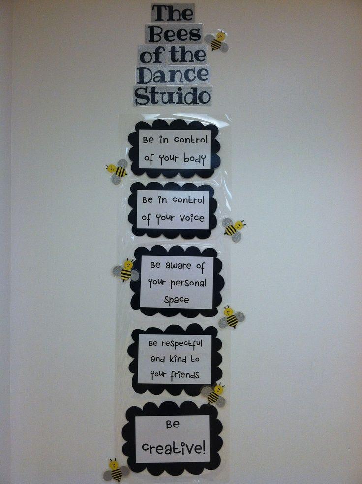 Classroom Ideas For 5th Grade ~ Dance class rules classroom kids