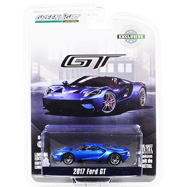1 64 Greenlight Hobby Exclusive 2017 Ford Gt Greenlight Ford