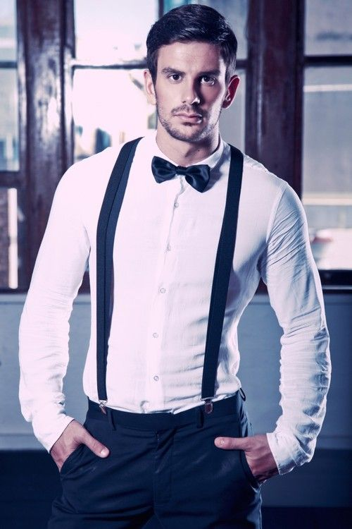 Wear for men how to suspenders best photo