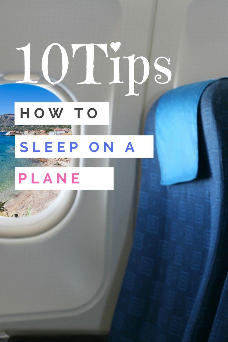 10 Tips How To Sleep On A Plane