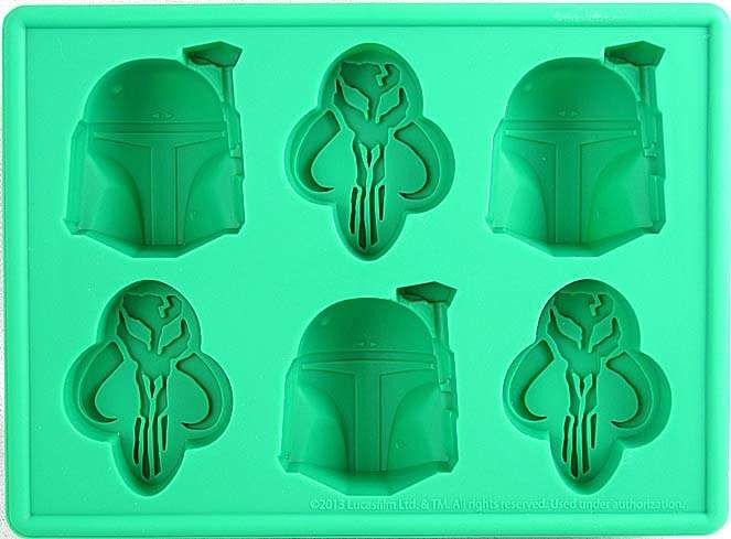 Star Wars Boba Fett Ice Cube Tray / Candy Mold - Star Wars Superstore