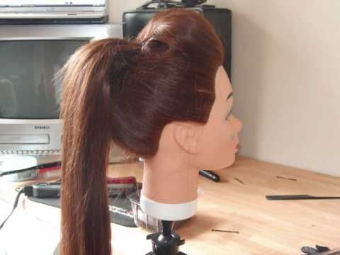 Kim Kardashian Inspired Sleek High Ponytail with Rockabilly Quiff Hair Tutorial