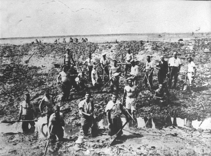 Emigranti bellunesi nelle Paludi Pontine, anni 1930