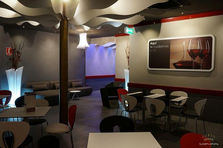 16 best restaurante davia gulabar caf zaragoza for Diseno de interiores espana
