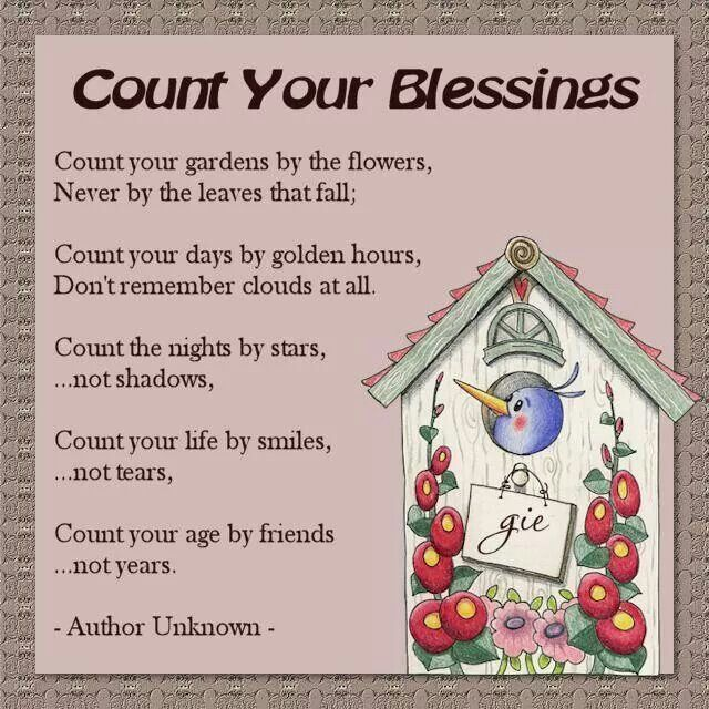 Quotes About Counting Your Blessings: Bible & Forgiveness Quotes