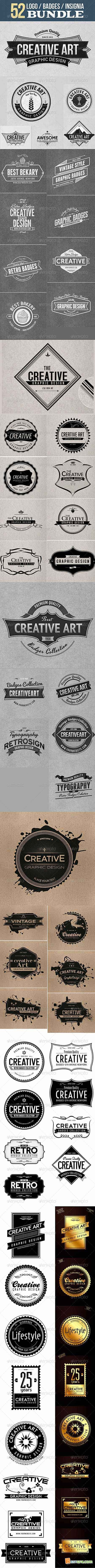 Graphicriver Logo Badge Insignia Bundle 6574828