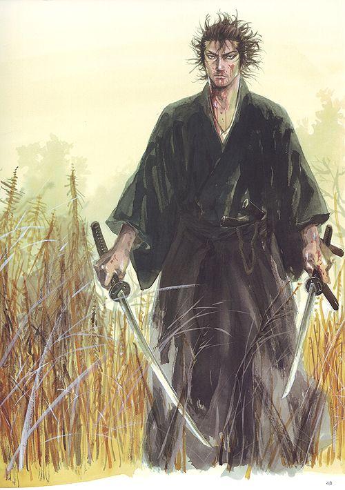 Musashi Miyamoto from Vababond by Takehiko Inoue