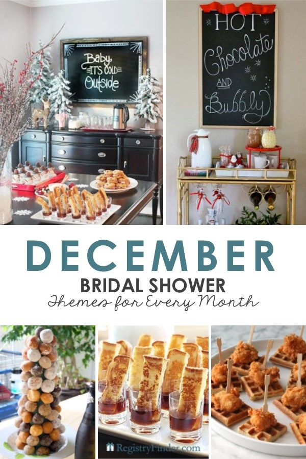 Bridal Shower Party Themes for Each Month