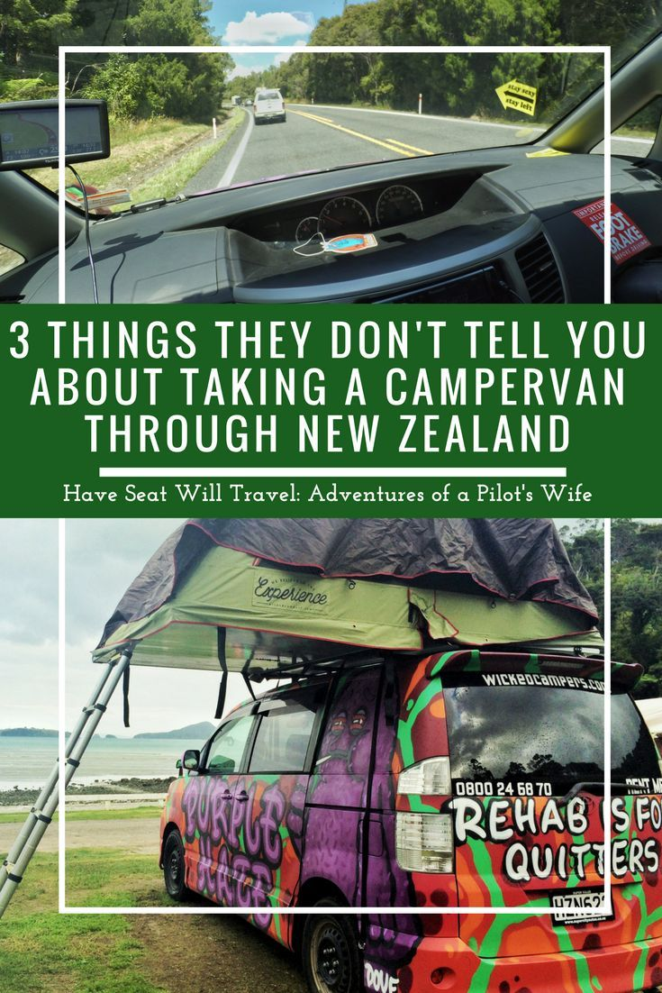 Get your ducks in a row before hopping in a campervan in New Zealand! It is an awesome way to see the country but know these 3 things before you go!