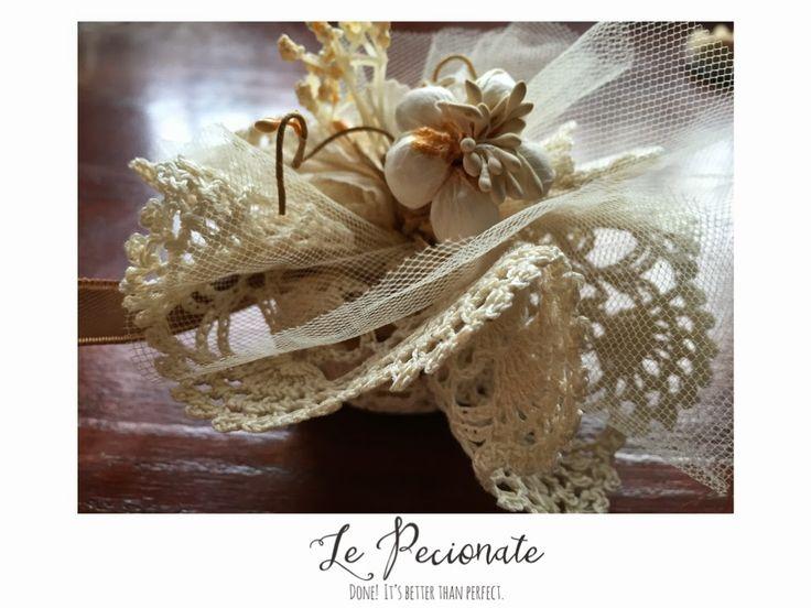 Matrimonio fai da te: sacchetti porta confetti in tre mosse | Le pecionate