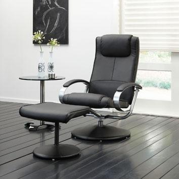 Moderne relax fauteuil met een trendy look. Deze design fauteuil is aangevuld met zachte vulling aan de nekgedeelte, rugholte en knierol voor ultiem zitcomfort. Slappe spieren, slechte doorbloeding en rugklachten worden verleden tijd dankzij dit ergonomisch ontwerp.