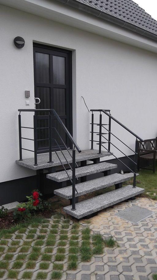 Die besten 25+ Eingangstreppe Ideen auf Pinterest Vorgarten - ideen treppenbeleuchtung aussen