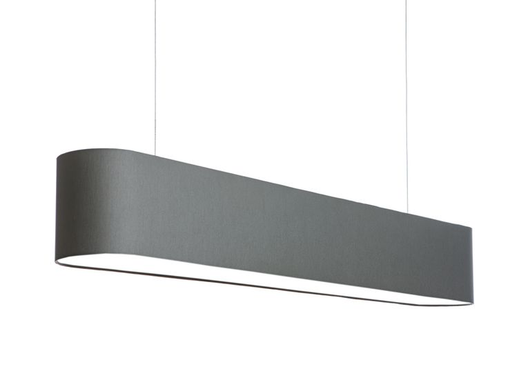 FlabFAB acoustic textile pendant (120 cm) - grey