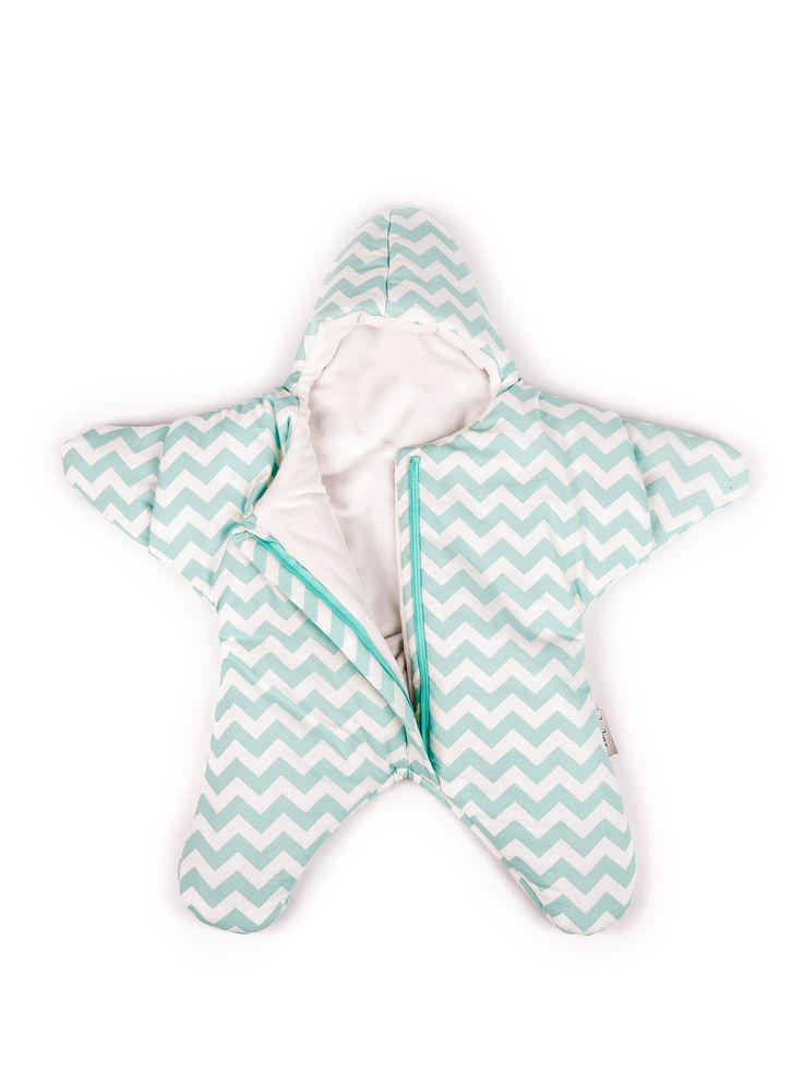 Baby Bites Star Sleeping Bag Mint Zigzag - just like Maggie from the Simpsons. This is an adorable snow suit. They have it for both summer and winter.