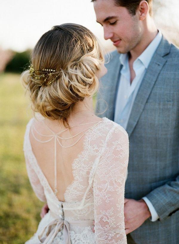 Romantic Bridal Updo | Koby Brown Photography on @CVBrides via @aislesociety