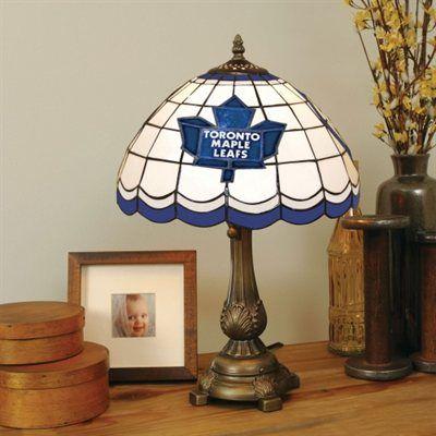 Toronto Maple Leafs Tiffany Table Lamp