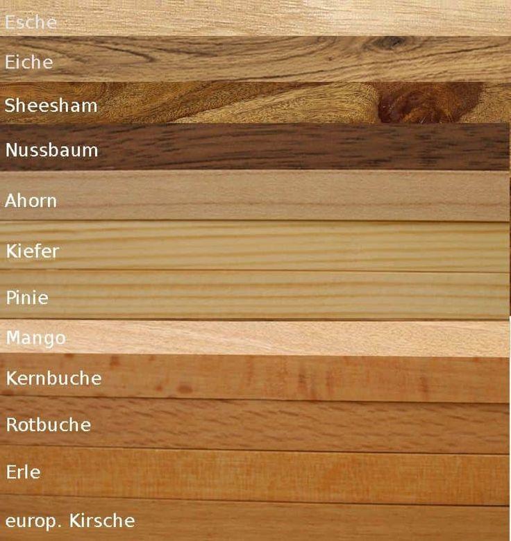 Farbe Puderrosa Richtig Kombinieren: Holzarten Richtig Kombinieren
