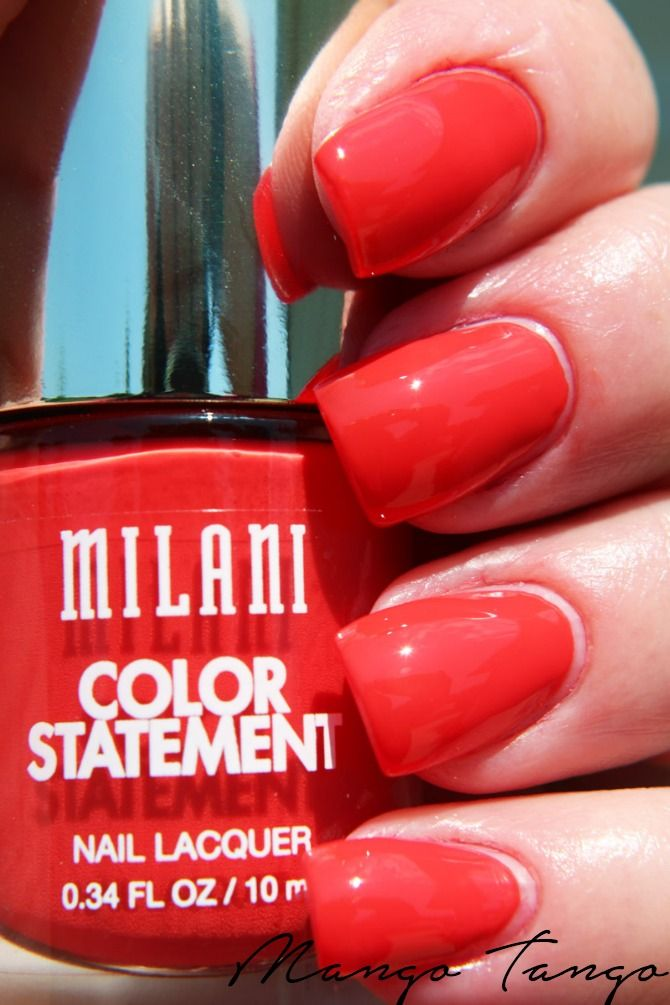 Milani Cosmetics Color Statement Nail Lacquer #milanicosmetics #milani #nailpolish
