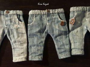 Шьем джинсы для куклы - Kira Kozak - Ярмарка Мастеров http://www.livemaster.ru/topic/2328641-shem-dzhinsy-dlya-kukly
