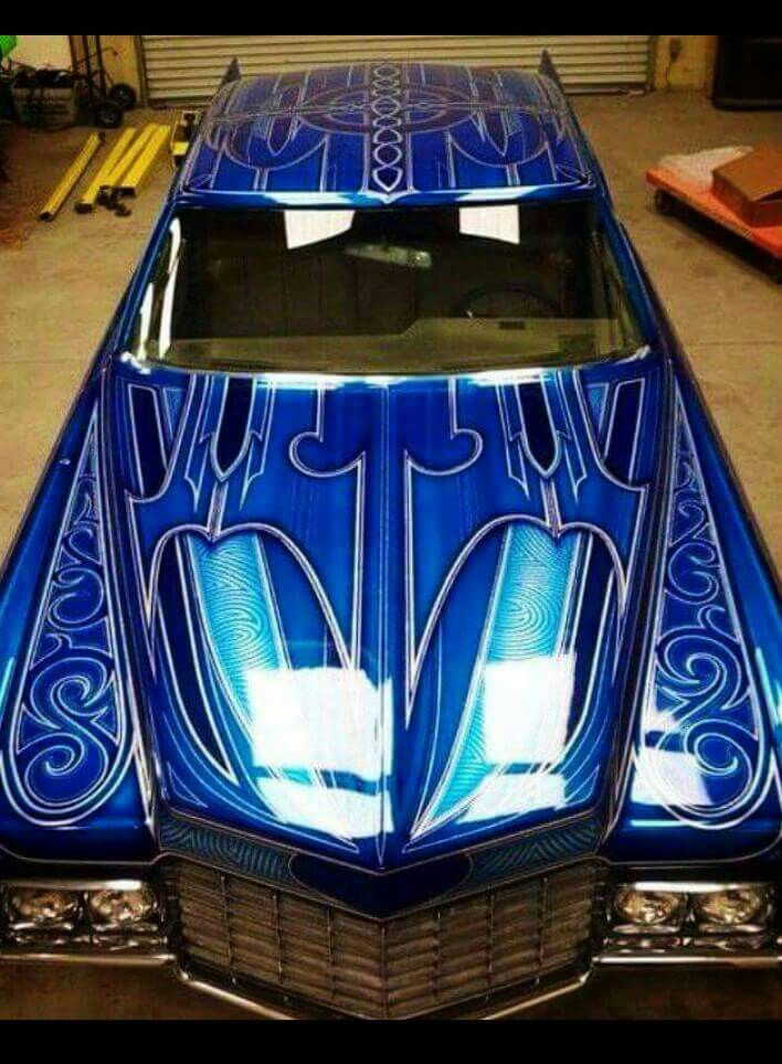 What a great paint job..