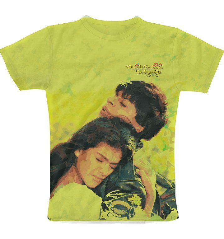 DDLJ Retro poster Print T-Shirt