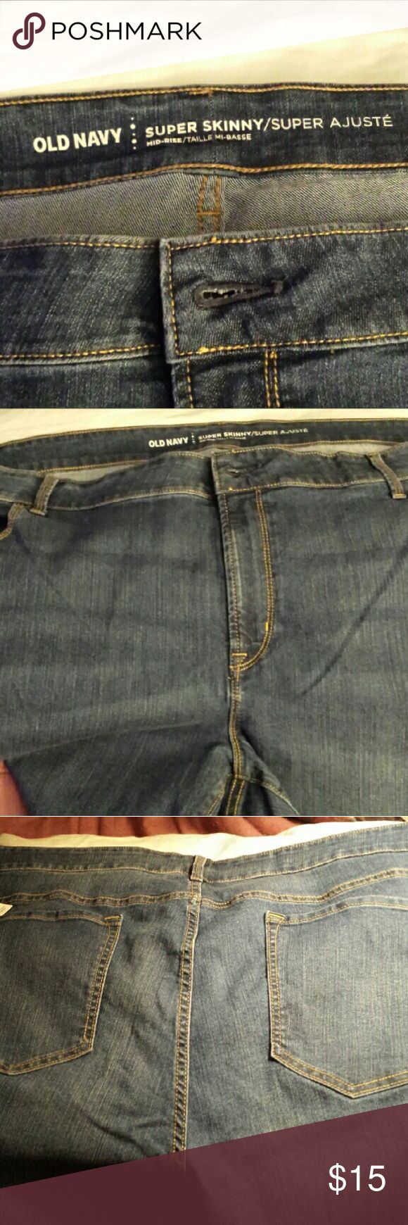 Women's Jeans Selling NWT women plus tall size 28 skinny jeans. Old Navy Jeans Skinny