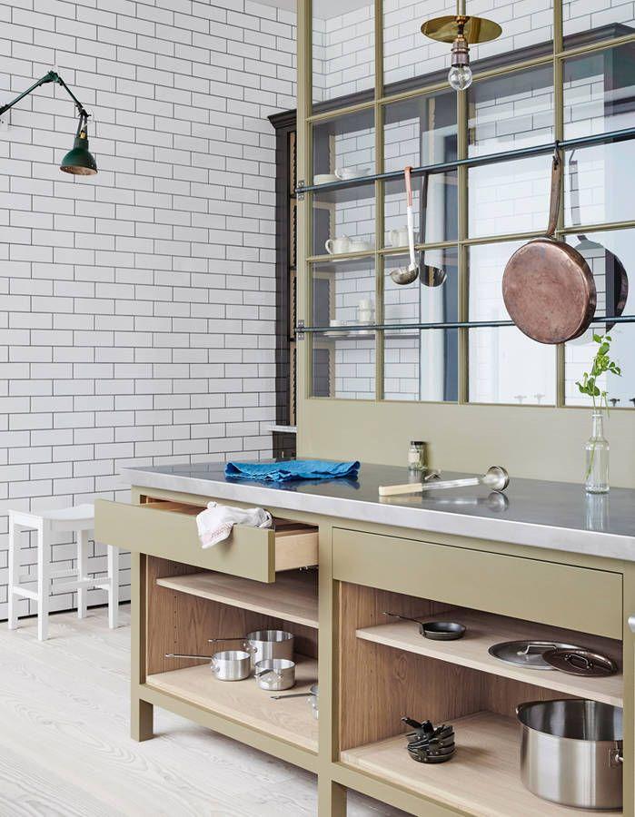 7 styles de cuisine pour trouver la v tre elle d coration houses kitchens pinterest. Black Bedroom Furniture Sets. Home Design Ideas