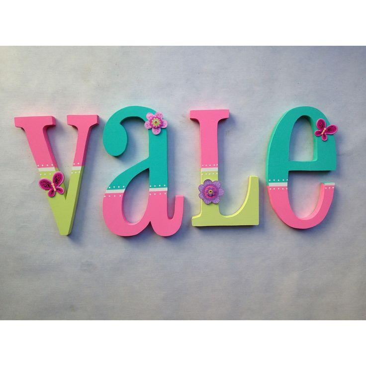 M s de 25 ideas fant sticas sobre letras para nombres de madera en pinterest letras de madera - Letras de madera para decorar ...