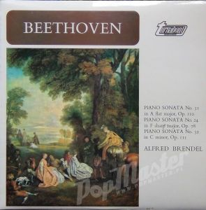 Alfred Brendel Beethoven Piano Sonata No. 31 in A Flat Major, Op. 110 Turnaboat TV 34113DS vol.3  muzyka klasyczna classical music