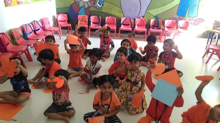 we at RBKGS organise a colours day for kids of play school, so that they have a natural affinity to understand the world of colours around them.