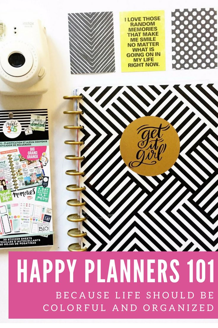 You're going to have so much fun with your new Happy Planner! If you're feeling a little overwhelmed, here are some of my favorite posts and other resources for beginners to get you sta…