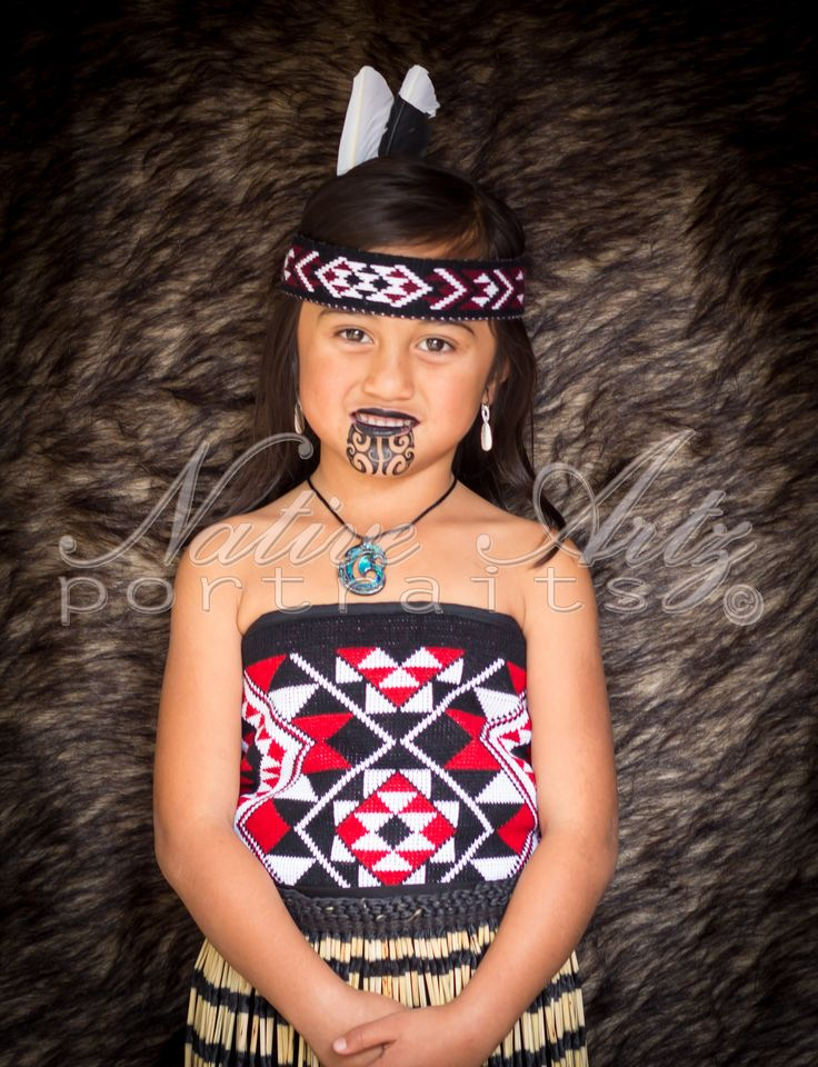 Native Artz Portraits 2014, Tamariki (children), Maori Portrait, get your own at https://www.facebook.com/NativeArtzPortraits