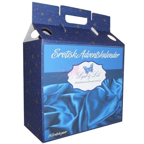 Erotisk Kalender - Gavepakker fra Lyst-lek. Om denne nettbutikken: http://nettbutikknytt.no/lyst-lek/