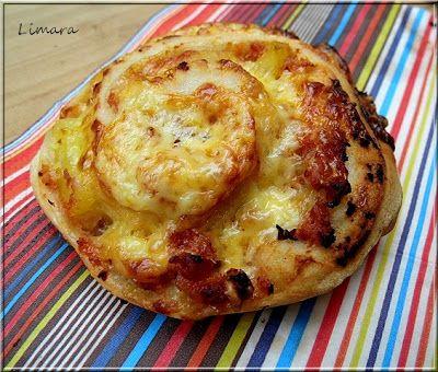 Limara péksége: Pizzás csiga (az ÁLOM péksüti? )