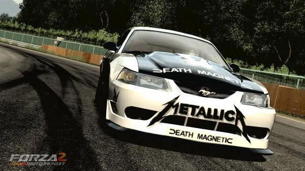 Metallica car