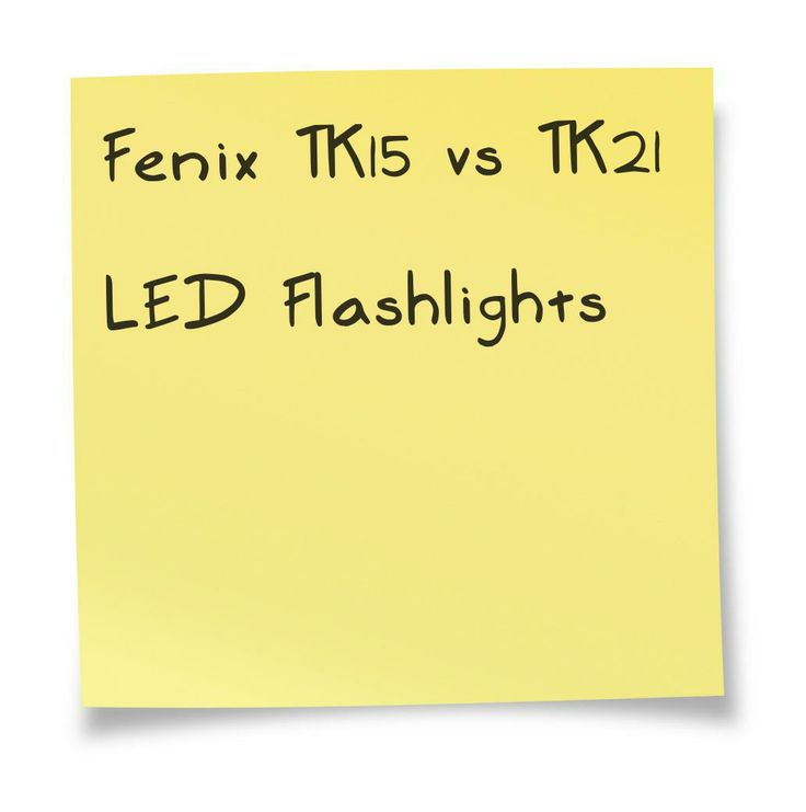 Fenix TK15 vs TK21 LED Flashlight. A comparison chart. Details at http://comchoose.com/fenix-tk15-vs-tk21-specs/