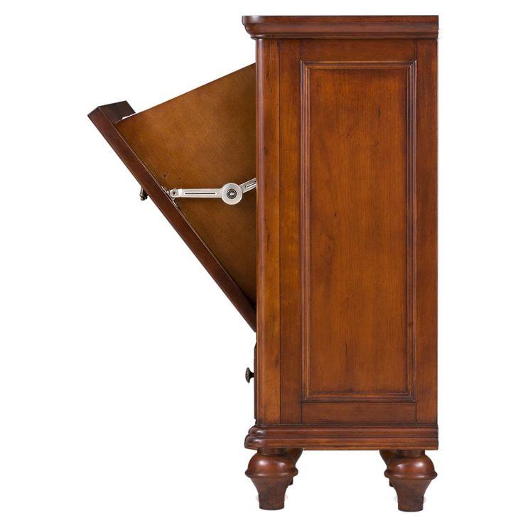best 25 wooden laundry hamper ideas on pinterest trash. Black Bedroom Furniture Sets. Home Design Ideas