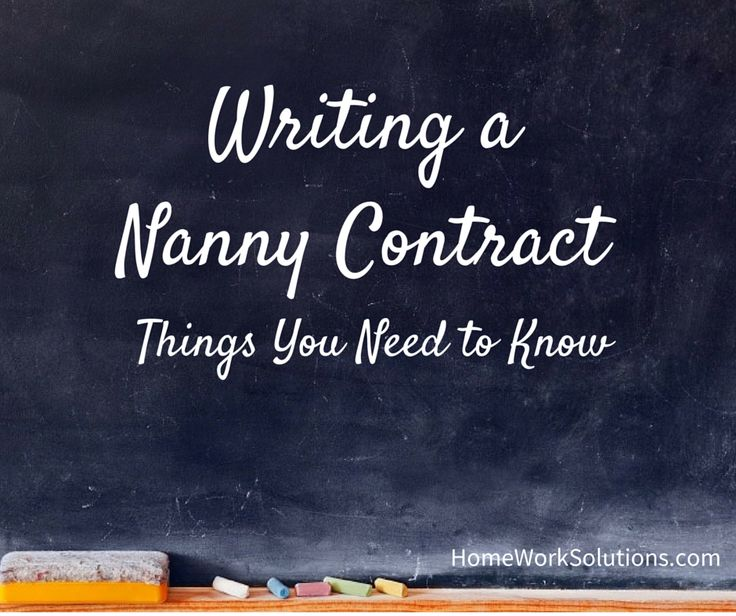 The 25+ best Nanny contract ideas on Pinterest Daycare forms - differences contract agreement