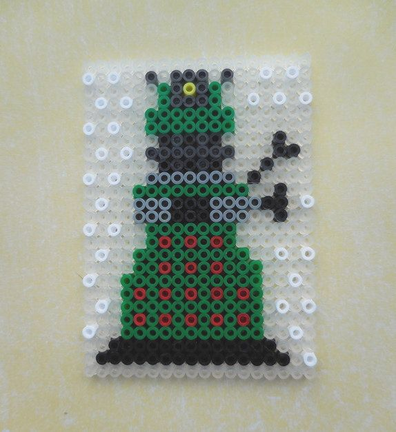 Dr Who Dalek Hama Beads by TCAshop