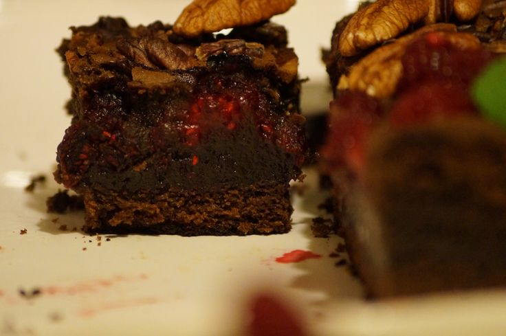 Brownie Frambuesa