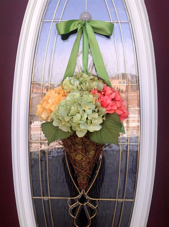 Spring Wreath Easter Wreath Summer by AnExtraordinaryGift on Etsy, $75.00