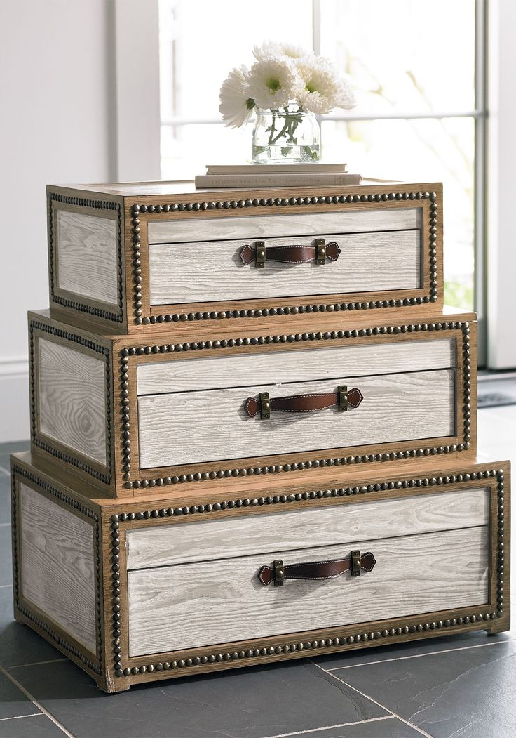 You'll discover our Voyager Chest is packed with originality. Ordinary end tables just don't stack up.