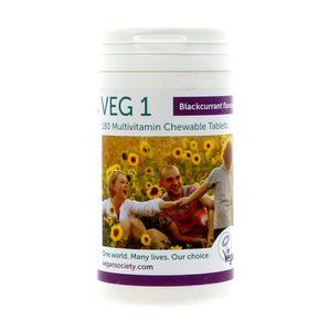 VEG 1 blackcurrant 180 tablets