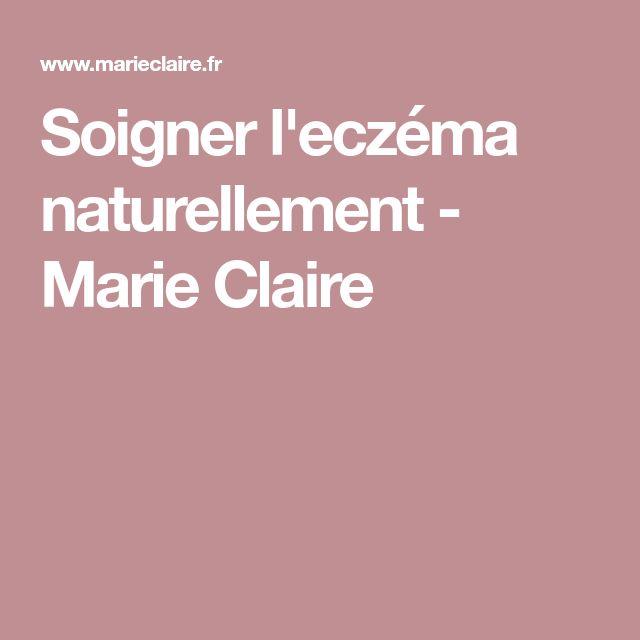 Soigner l'eczéma naturellement - Marie Claire