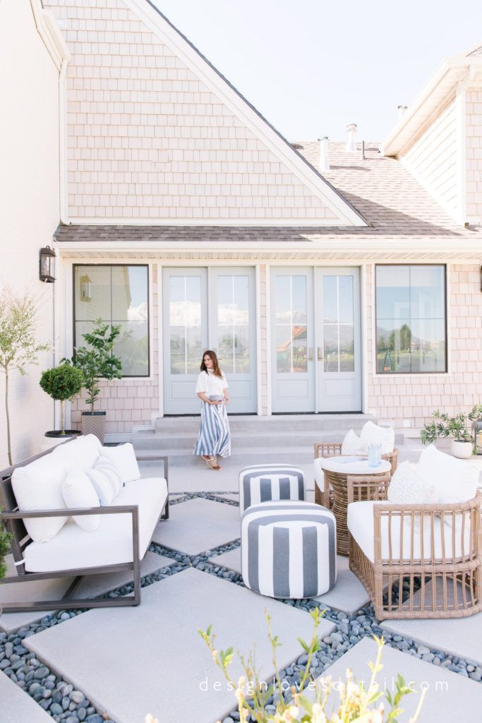 Design Loves Detail My Patio Reveal With Summer Classics Love