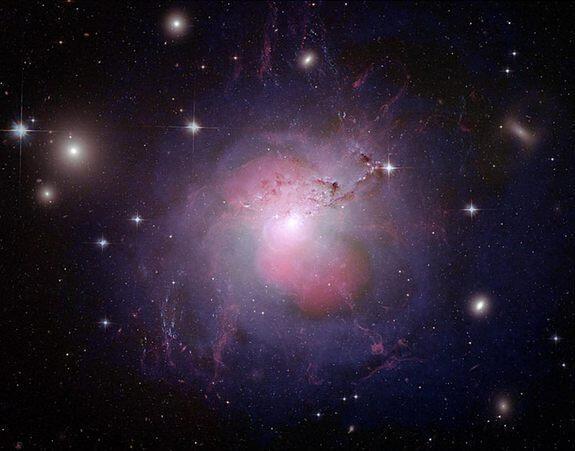 NGC 1275 undergoes the wrath of a supermassive #blackhole…