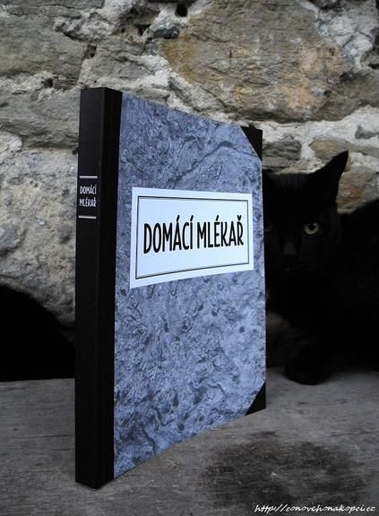 "Kniha ""Domácí mlékař"""