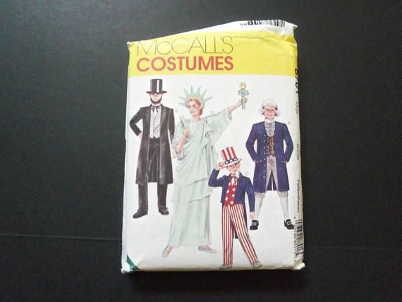 McCall's Costumes Pattern 8701  Adults' Boys' or