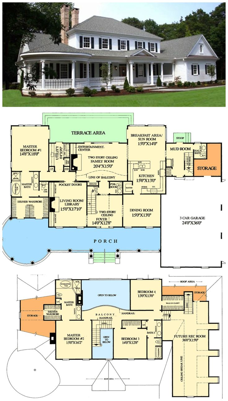 Best 25 large floor plans ideas on pinterest Large farmhouse plans